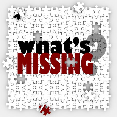 What's Missing Question Words Puzzle Holes Gaps Incomplete Pictu